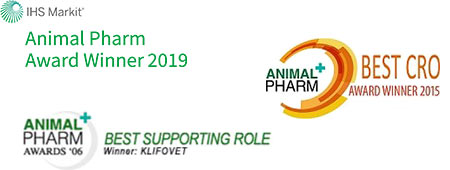 Best CRO / Best Supporting Role - Animal Pharm Award Winner